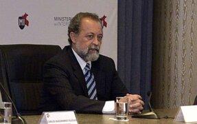 Ricardo Valdés: Ministro Maraví debió haberse informado si conocía o no previamente a las personas con la que se reunía