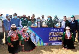 Senasa: inician segunda etapa de vacunación, en resguardo de la ganadería familiar del país