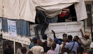 Haití: saquean camiones que transportaban ayuda para víctimas de terremoto