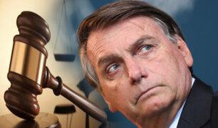 Bolsonaro pide destitución del juez de la Corte Suprema que lo investiga