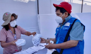 Entregarán más de 10.000 kits de mascarillas comunitarias en los distritos de Lima Sur