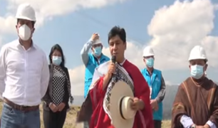 Cajamarca: presidente de EsSalud supervisó avances del Hospital Modular en Chota