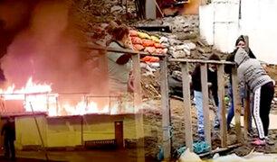VES: familias afectadas por incendio en Talara piden ayuda