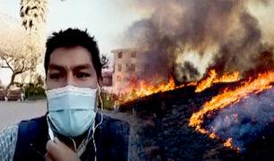 Cusco: se han reportado 116 incendios forestales en lo que va del año