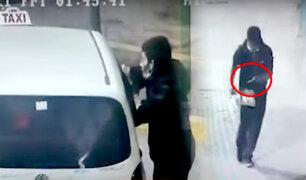 El Agustino: detienen a ladrón de taxista que dormía en su vehículo
