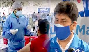 Sin contratiempos se realizó la quinta 'vacunatón' en Plaza Norte