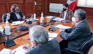 Titular del PJ se reunió con premier Bellido para solicitar mayor presupuesto institucional