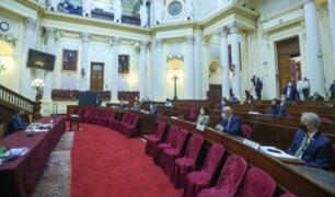 Congreso: aprueban citar a ministros de Defensa y del Interior para que expongan políticas de sus sectores