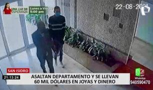 ¡La delincuencia no se detiene! Viviendas de San Isidro en la mira de los robacasas