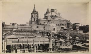 Biblioteca Nacional presenta exposición sobre incendio y reconstrucción de la institución