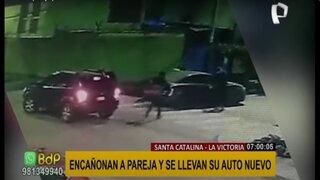 La Victoria: delincuentes encañonan a pareja y roban auto valorizado en 11 mil dólares