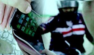 La Victoria: ladrón en bicicleta roba celular a transeúnte