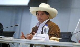 Presidente Pedro Castillo viajó a Ucayali para cumplir agenda de trabajo