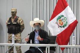 Presidente Castillo afirmó que tiene una agenda para atender al país