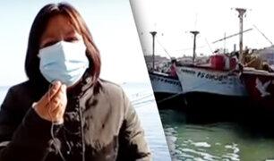 Pisco: Así amanecen los puertos y caletas por fuertes vientos