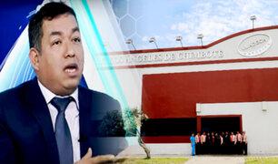 Darwin Espinoza de AP: Sunedu debe dar segunda oportunidad a ULADECH y Universidad San Pedro