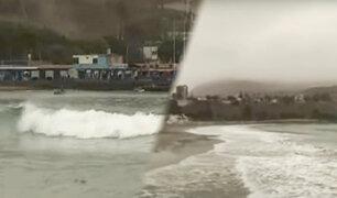 Costa Verde: litoral limeño presenta oleaje anómalo y vientos fuertes