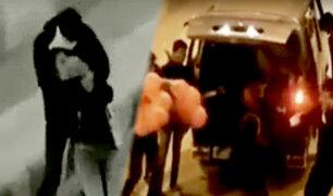 Broma de terror: amigos simulan secuestrar a joven por su cumpleaños