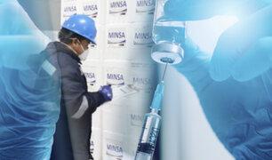 MEF transfiere S/ 135.6 millones al Minsa para compra de vacunas contra la COVID-19