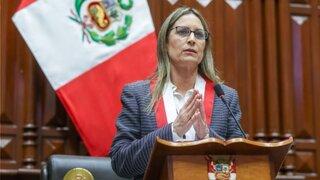 """Maricarmen Alva sobre denuncia de Patricia Chirinos: """"Rechazo cualquier expresión de violencia de género"""""""
