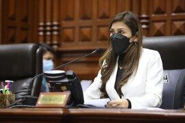 Vicepresidenta del Congreso pide que Castillo brinde explicaciones sobre traslado de reos de la Base Naval
