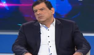 """Caparrós: """"Montesinos tendrá un nuevo régimen en el que no tendrá teléfono ni privilegios"""""""