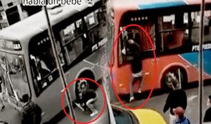 Comas: atacan con palos y piedras bus de transporte público con pasajeros