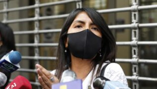 Caso Cócteles: dictan comparecencia con restricciones a Giulliana Loza