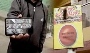 SMP: vecinos organizados usan aplicativo para detener a delincuente armado