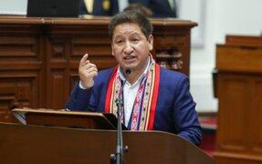 Guido Bellido descartó cambios en el Gabinete Ministerial