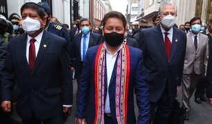 Bellido anuncia proyecto de ley para fortalecer el combate del soborno nacional y transnacional