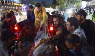 Doble atentado cerca del aeropuerto de Kabul deja más de 60 muertos y 140 heridos