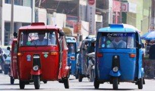 Tarapoto: cámara capta despiste de mototaxi