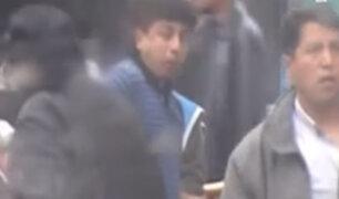 Guillermo Bermejo fue captado junto a sentenciados de Sendero Luminoso