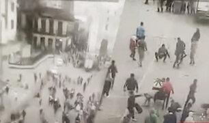 Cercado: ambulantes frustran operativo municipal de manera violenta