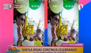 Picantitas del Espectáculo: todos los detalles del cumpleaños de Sheyla Rojas en España
