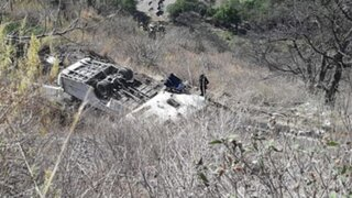 Apurímac: al menos 15 muertos y tres heridos deja accidente de tránsito en Cotabambas
