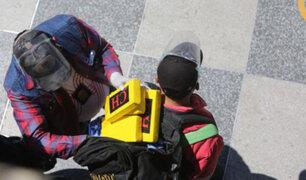 Arequipa: intervienen en terminal terrestre a sujeto que trasladaba cinco kilos de cocaína