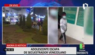 Menor de 16 años logra escapar de su secuestrador en terminal Plaza Norte