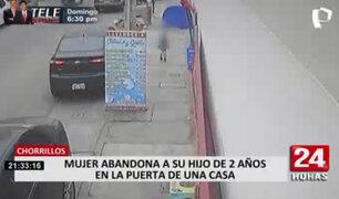 Chorrillos: familia paterna de niño abandonado en calle fue a UPE en busca de su custodia