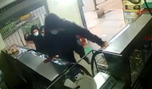 SJM: delincuentes armados roban por cuarta vez la misma panadería