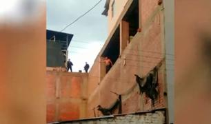 Huancayo: hombre intentó quitarse la vida lanzándose desde un tercer piso