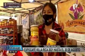 Expo Café Villa Rica llega a la Plazuela del Teatro Municipal
