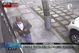 Miraflores: delincuentes intentan robar un departamento