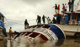 Loreto: al menos 20 muertos y más de 50 desaparecidos deja choque de lanchas en río Huallaga