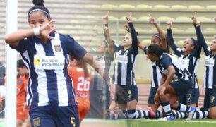 Alianza Lima es el primer finalista de la Liga Femenina