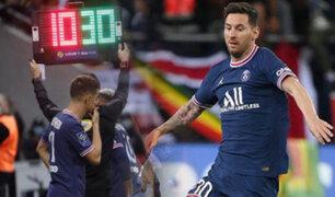 """Lionel Messi debutó con la """"30"""" y hace historia con el PSG"""