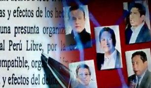 Perú Libre es investigado por lavado de activos