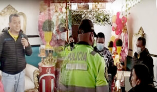 Tony Rosado es intervenido amenizando un cumpleaños en Tacna