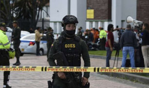 Colombia: ataque con explosivo contra estación policial deja al menos 14 heridos
